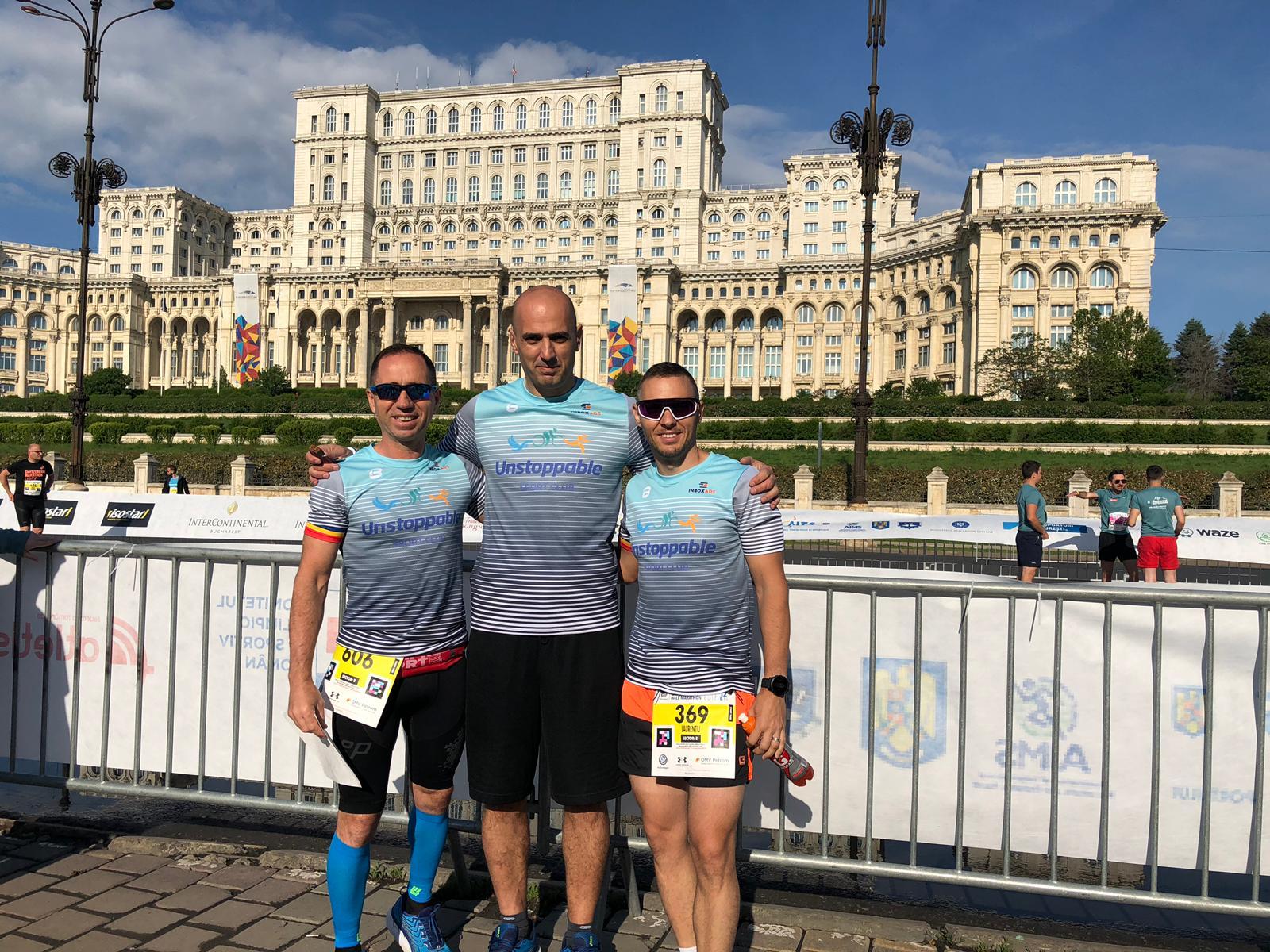 Unstoppable Sport Club - recorduri personale la Semimaeratonul București