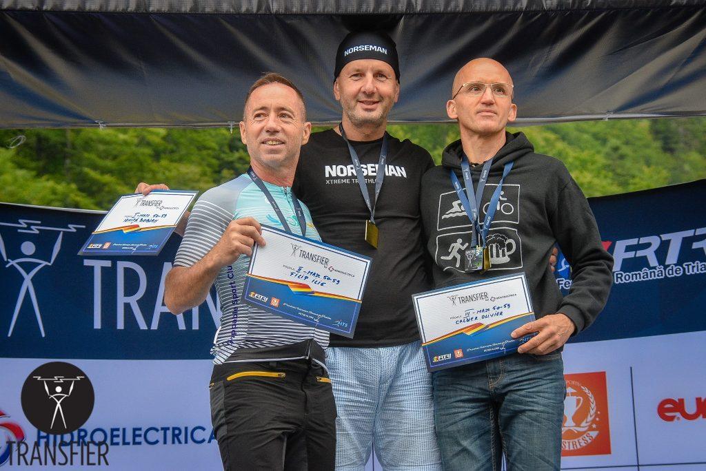 Transfier 2019 - podium categoria 50-59 - Ilie Filip locul 2