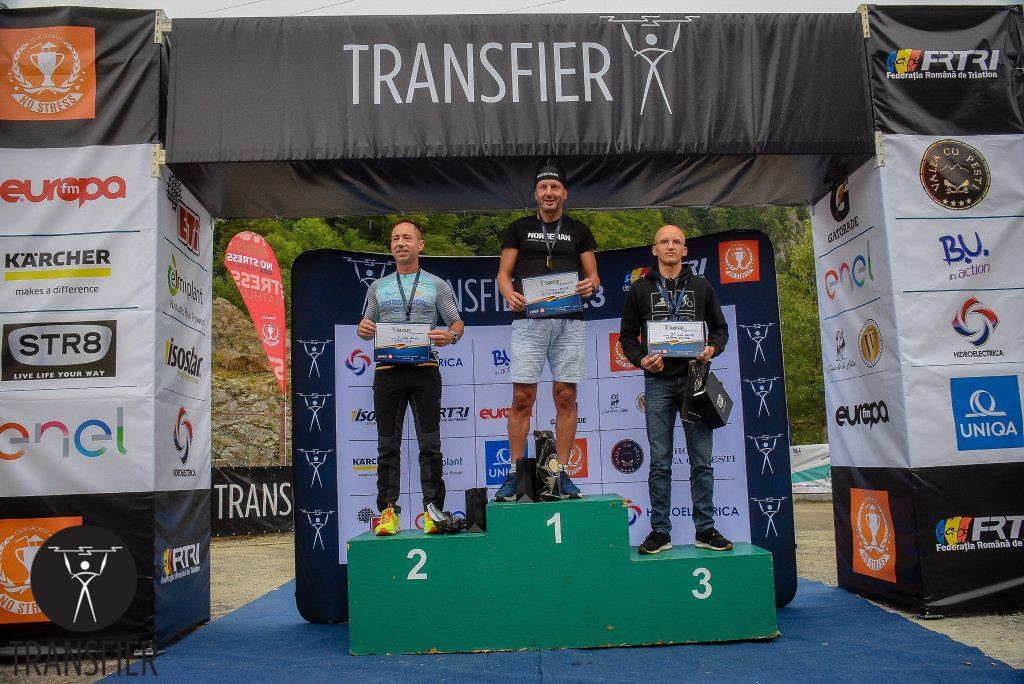 Ilie Filip locul 2 - Transfier 2019 - podium categoria 50-59