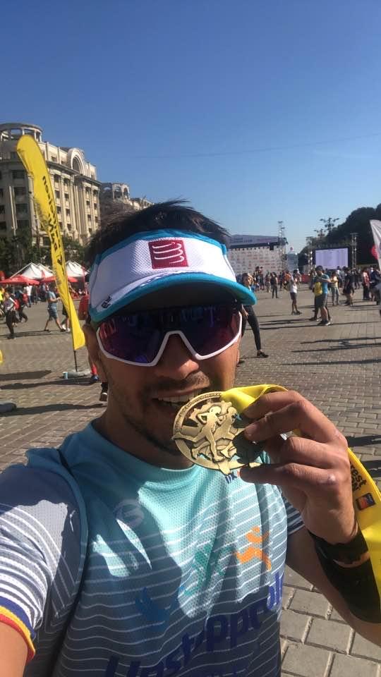 Ovidiu Nicoiu - semimaraton București