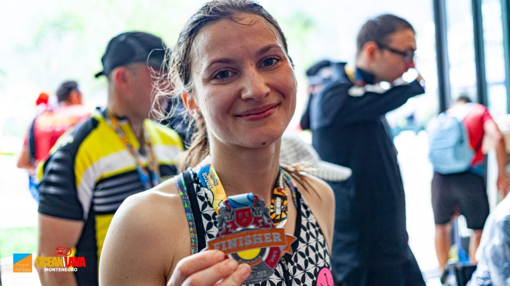 Iulia Florea - medalie OceanLava Muntenegru