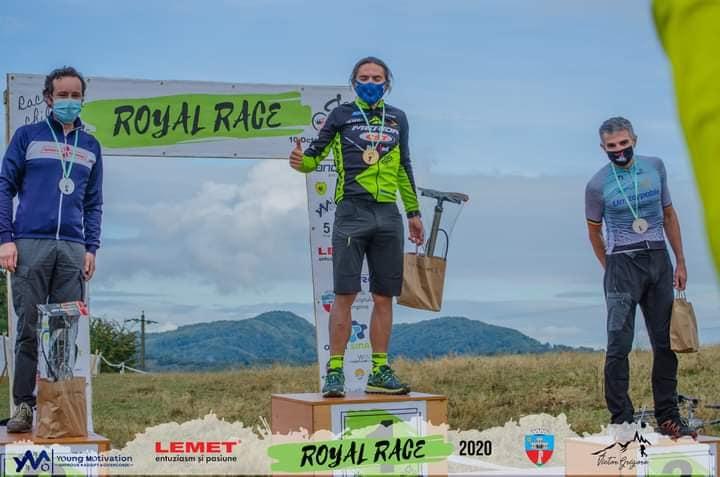 Aurelian Răducanu - Unstoppable - podium Royal Race Campina