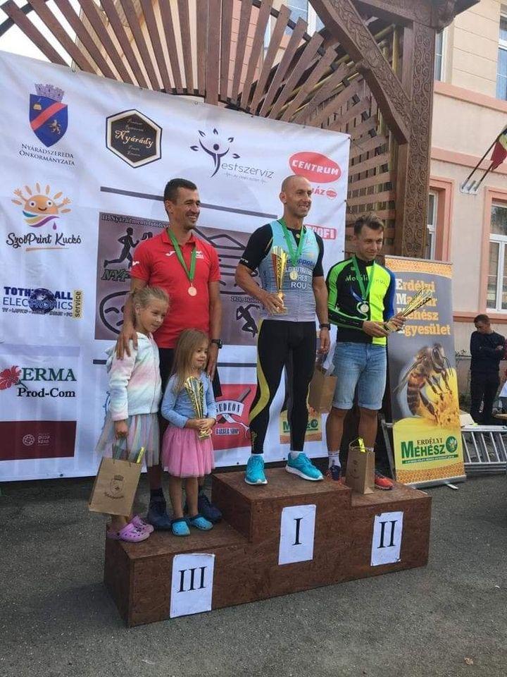 Beres Hunor - Unstoppable - podium Crosul Nirajului